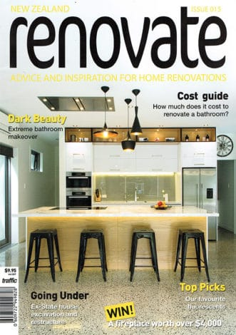 featured in renovate magazine issue 015